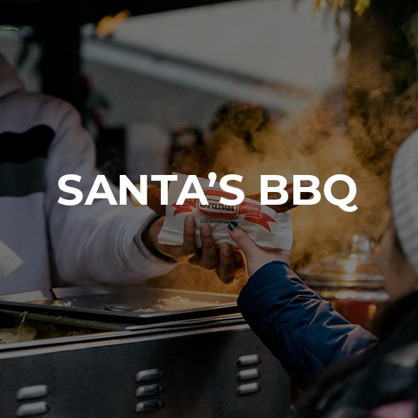 Santa's BBQ Vendor Image